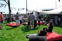 Feestelijkheden tijdens de opening<br/>Foto: Ruud Slagboom