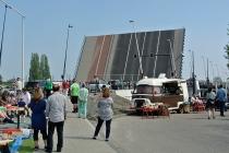De NSM brug gaat voor de eerste keer open<br/>Foto: Ruud Slagboom