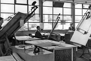 tekenkamer 1964