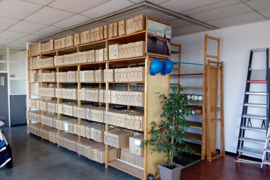 nieuwe archief ruimte