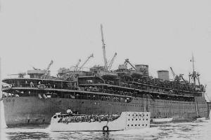 Marnix Sint Aldegonde als troepentransportschip